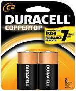 Duracel C Batteries 2pk