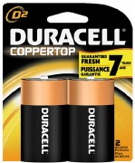 Duracel D Batteries 2pk