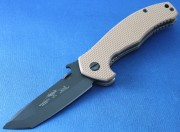 Emerson Mini Desert Roadhouse BT Black Plain Edge Blade