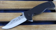 Emerson Sheepdog Bowie Stonewashed Plain Edge Blade