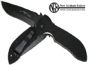 Emerson Commander BTS Black Partially Serrated Blade