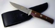 Fallkniven TK1 Tre Kronor Premium Fixed Blade - Select Cocobolo Handle - Laminate 3G Powder Steel - Leather Sheath - Sweden