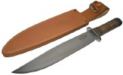 Fallkniven NL1 Thor Northern Light - Laminate VG-10 Steel - Oxhide Handle - Leather Sheath