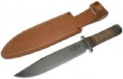 Fallkniven NL Odin Northen Light - Laminate VG-10 Steel - Oxhide Handle - Leather Sheath
