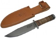 Fallkniven NL3 Njord Northern Light - Laminate VG-10 Steel - Oxhide Handle - Leather Sheath