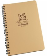 All-Weather Notebook Tan 4.5x7