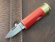 Shotgun Shell Knife Red