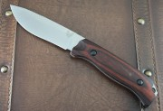 Benchmade 150012 Saddle Mountain Skinner - Satin CPM-S30V Plain Edge Blade - Leather Sheath