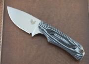 Benchmade 15016-1 Hidden Canyon Hunter - Satin S30V Drop Point Blade - G-10 Handle - Kydex Sheath