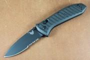 Benchmade 570SBK-1 Presidio - Black Partially Serrated S30V Blade - CF-Elite