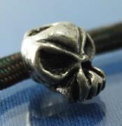 Metal Skull Bead, Paracord