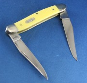 Case XX Muskrat Yellow Synthetic High Carbon CV