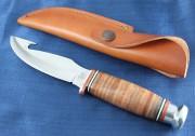 Gut Hook Hunter Leather