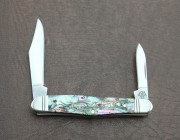 Case XX Select Half Whittler with Mother of Pearl and Abalone Handles
