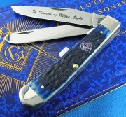 Masonic Trapper Blue Bone