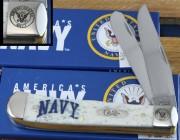 Navy Trapper Bone Handle