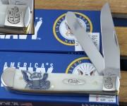 #Navy Anchor Trapper Bone