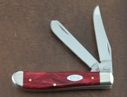Case XX Mini Trapper Red Pearl Kirinite