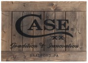 Case XX Rustic Wooden Sign
