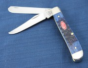 Mini Trapper Navy Blue Bone