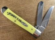 Mini Trapper Yellow John 3:16