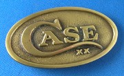 Case Brass Belt Buckle
