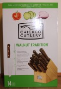 Chicago Cutlery Walnut Tradition