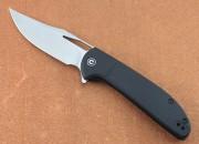 CIVIVI 2013B Ortis Flipper - 9Vt18MoV Stainless Blade - Black FRN Handles - Linerlock
