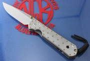 Chris Reeve Large Sebenza 21 Drop Point - Titanium Handles with Fastened CGG