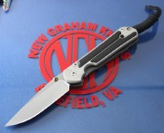 Chris Reeve Small Sebenza 21 Drop Point with Gabon Ebony Inlays