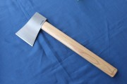 Competition Throwing Axe - 1055 Drop Forged Head - American Hickory Handle - Meets NATF, WATL & IKTHOF Regulations