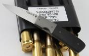 Frank Centofante Custom Linerlock - G-10 Handles - Titanium Frame - Titanium Bolsters