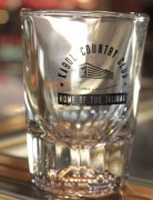 DPX Shot Glass Kabul Country Club