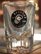 DPX Shot Glass Baghdad Bar & Grill