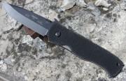 Emerson CQC7A BT Black Plain Edge Blade w/Wave
