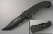 Emerson CQC 13 BTS Black Partially Serrated Blade