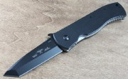 Emerson Super CQC7BW BT Black Plain Edge Tanto Blade w/ Wave