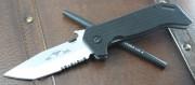 Emerson ETAK B SFS Stonewashed Partially Serrated Blade