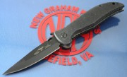 Emerson Gentleman Jim BT Black Plain Edge Blade