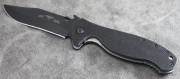 Emerson Patriot BT Black Plain Edge Blade