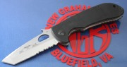 Emerson Reliant SFS Stonewashed Partially Serrated Blade