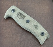 ESEE Genuine Series 5 and Series 6 Canvas Micarta Replacement Handle Scales w/Hardware