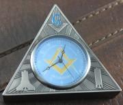 Masonic Table Clock