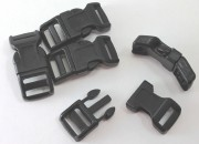 Buckles (Black) for Paracord