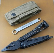 Leatherman MUT EOD Black Stainless -  Brown MOLLE Sheath - 850032