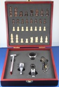 Wine Tools and Chess Set