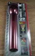 MagLite LED 2 D Cell RED