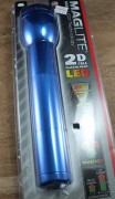 MagLite LED 2 D Cell BLUE