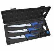 Outdoor Edge ReelFlex Pak 3 Knife Filet Set with Dual Stage Sharpener