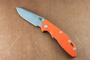 XM-18 Non-Flipper Spearpoint Working Finish with Orange G10 Scale and Tri-Way Pivot